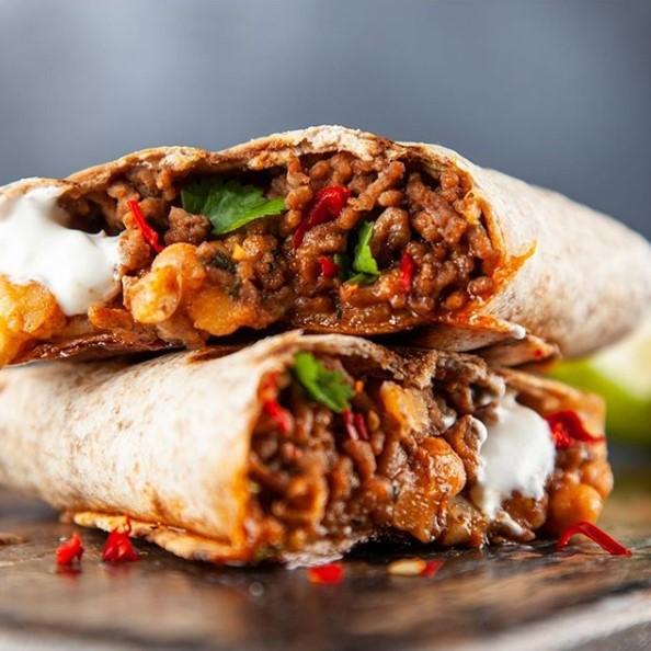 10- Burritos de carne